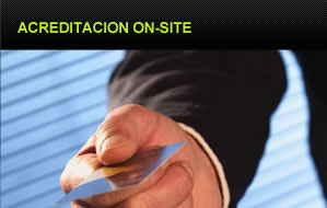 Acreditación on-site
